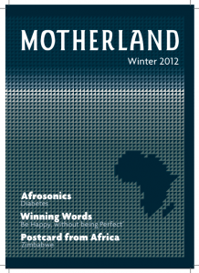 Motherland Magazine Winter 2012